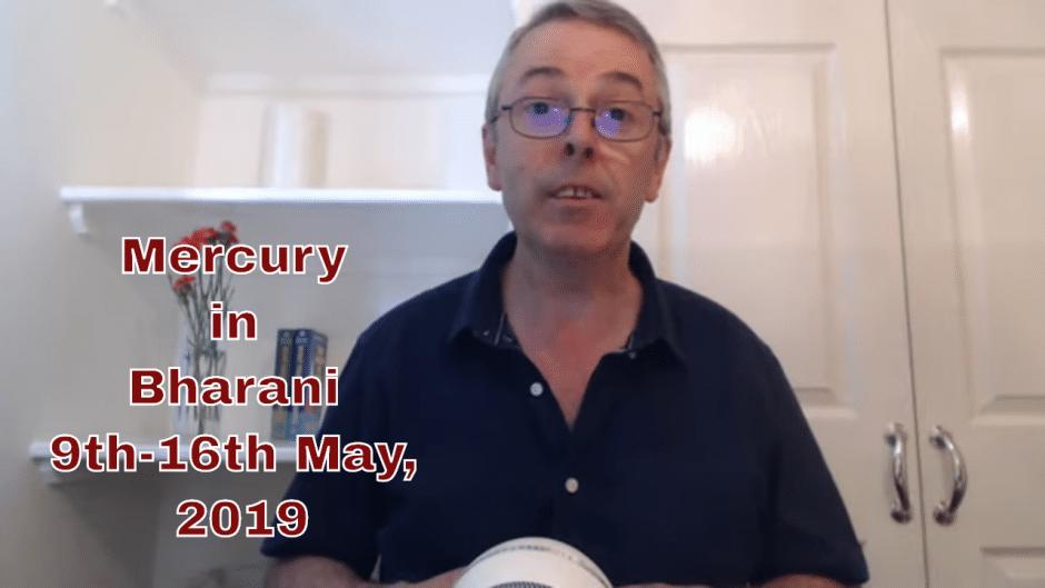 Mercury in Bharani
