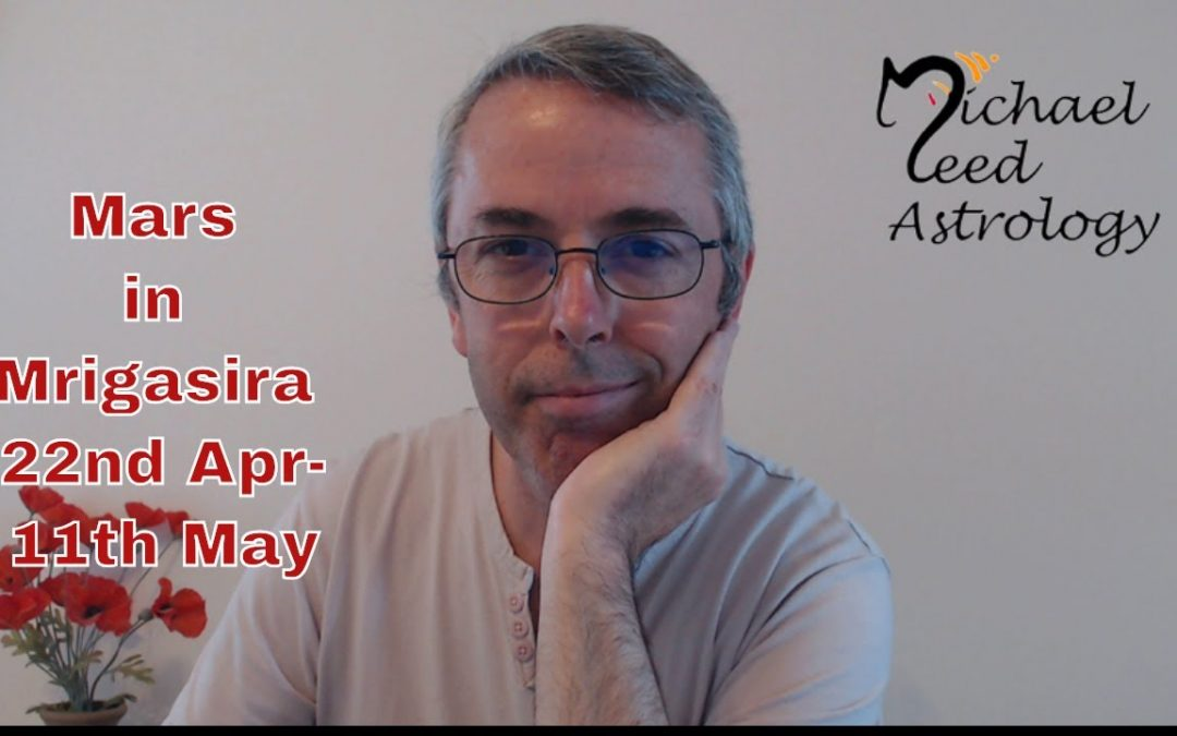 Mars in Mrigasira 22nd April-11th May, 2019-Holding Together!