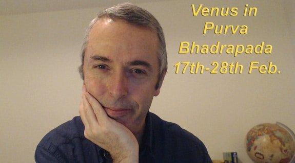 Venus in Purva Bhadrapada