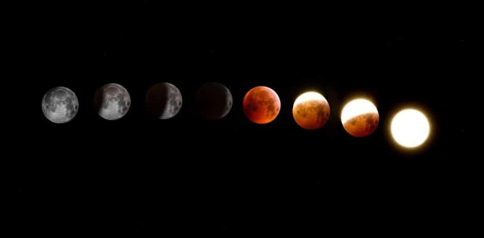 Totsl Lunar Eclipse in Anuradha