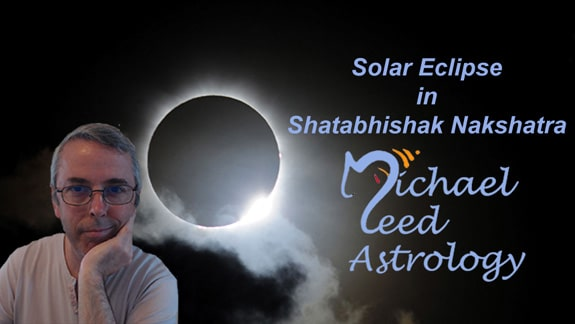 Solar Eclipse in Shatabhishak Nakshatra